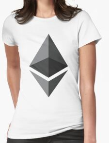 Ethereum Ether Basic Womens Fitted T-Shirt