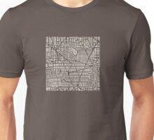 Seamless map  city plan Unisex T-Shirt