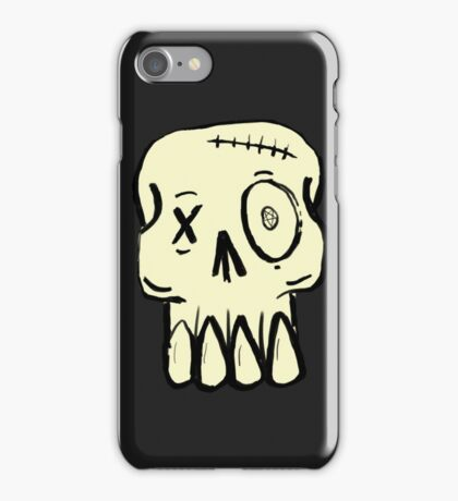 Street Skull iPhone Case/Skin