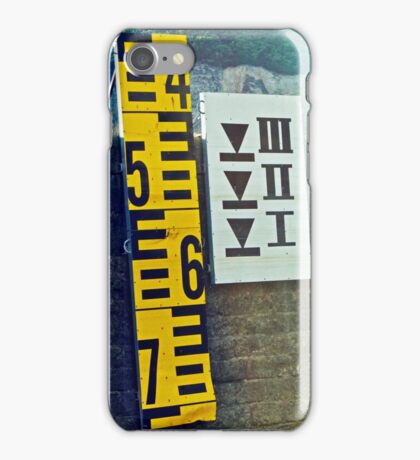 Water Marks iPhone Case/Skin