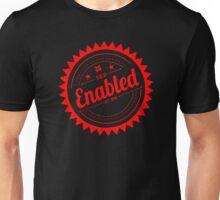 Enabled Red Unisex T-Shirt