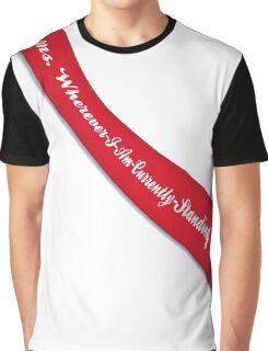 Pageant Winner Sash Graphic T-Shirt