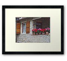 Provence Cottage Framed Print