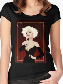 Darling doll Women's Fitted Scoop T-Shirt