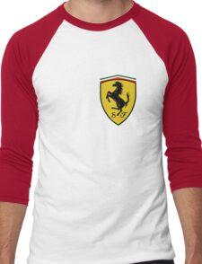 logo ferrari formula 1 2016 Men's Baseball ¾ T-Shirt