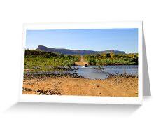 Pentecost River - Kimberley, WA Greeting Card