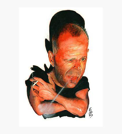 Bruce Willis Photographic Print