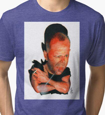 Bruce Willis Tri-blend T-Shirt
