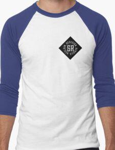 Redesign. Rebuild. Reclaim. (Black) Men's Baseball ¾ T-Shirt