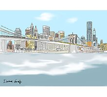 NY city Photographic Print