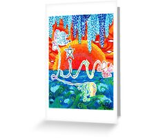 Live by Julia Delia Greeting Card