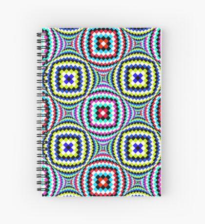 Kaleidoscopic Burst of Joy Spiral Notebook