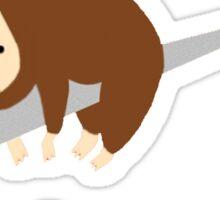 Sloth Life - Just do it tomorrow Sticker
