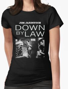 DOWN BY LAW - JIM JARMUSCH Womens Fitted T-Shirt