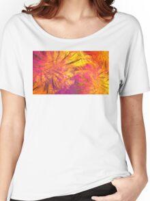 Sun Clematis Women's Relaxed Fit T-Shirt