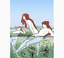 Bathing Nymphs Art Nouveau Illustration Unisex T-Shirt
