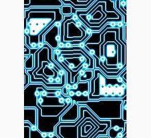 Electron - glowing circuits Unisex T-Shirt