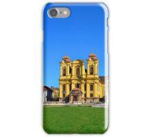 timisoara union square dome iPhone Case/Skin