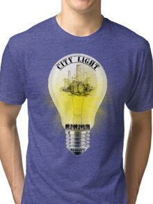 city light cool desing  Tri-blend T-Shirt
