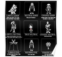 Undertale X Dungeons + Dragons Poster