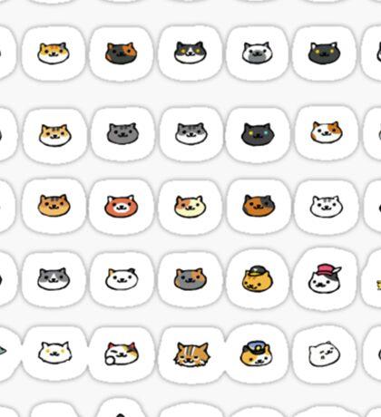Neko Atsume Cats Sticker