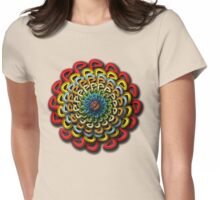 Infinite Path Martial Arts - Mandala 4 Womens Fitted T-Shirt