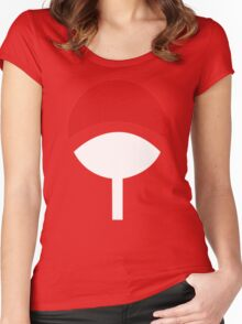 Uchiha Clans Women's Fitted Scoop T-Shirt