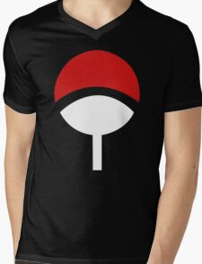 Uchiha Clans Mens V-Neck T-Shirt