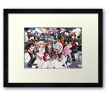 Little Busters Framed Print