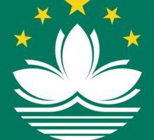 Macau flag Sticker