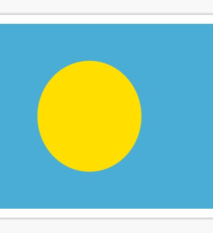 Palau flag Sticker