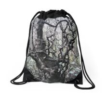 The Eerie Tree Drawstring Bag