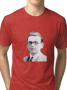 Portrait of Kurt Gödel black & White 1925 Graphic T-shirt Tri-blend T-Shirt