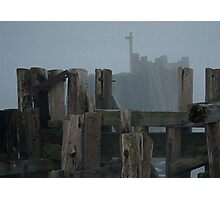 Remnants Of An Old Wharf Photographic Print
