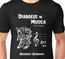 Diabolus in Musica (The Devil in Music -- The Tritone) Unisex T-Shirt
