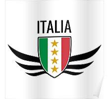 Italia Wing Crest  Poster
