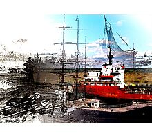 Collage Of Mariner Memories Photographic Print