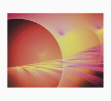 Pink Sun Rays One Piece - Long Sleeve