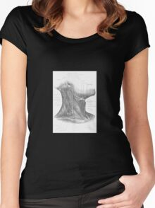 Historical surgical chart Women's Fitted Scoop T-Shirt