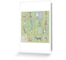 Dogs of New York Greeting Card