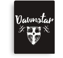 Skyrim 'Dawnstar' Canvas Print