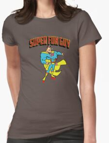 Super Fun Guy Womens Fitted T-Shirt