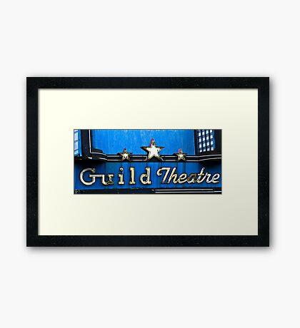 guild theatre Framed Print