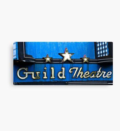 guild theatre Canvas Print