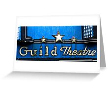 guild theatre Greeting Card