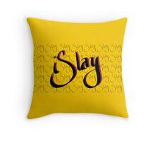 iSlay | Black on Black | Throw Pillow