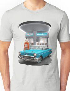 1957 Chevrolet Bel Air Night  Unisex T-Shirt