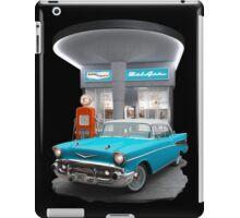 1957 Chevrolet Bel Air Night  iPad Case/Skin