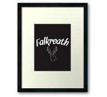 Skyrim 'Falkreath' Framed Print
