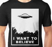 I Want To Believe (retro) Unisex T-Shirt